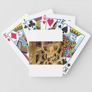 clockwork MECHANISM CLOCK Poker Deck