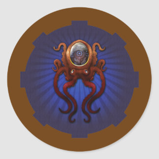 Clockwork Octopus Sticker