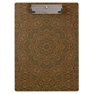 Clockwork Vintage Kaleidoscope Clipboard