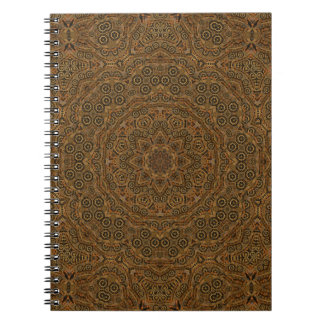 Clockwork Vintage Kaleidoscope  Notebook