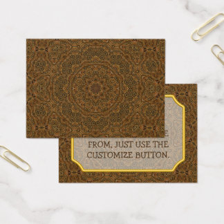 Clockwork Vintage Pattern  Business Cards