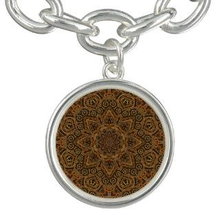 Clockwork Vintage Pattern  Charm Bracelet