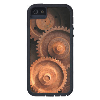 Clockworks Gear Mechanisms Cover For iPhone 5