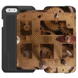 Clockworks Gear Mechanisms Incipio Watson™ iPhone 6 Wallet Case