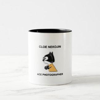 CLOE NEKOJIN, ACE PHOTOGRAPHER Two-Tone COFFEE MUG