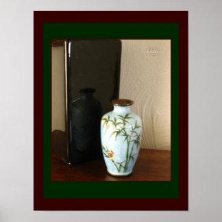 Cloisonné Vase 2 Poster by gretchen