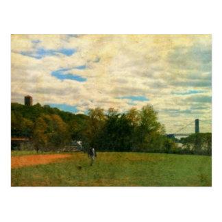 Cloisters and George Washington Bridge Postcard