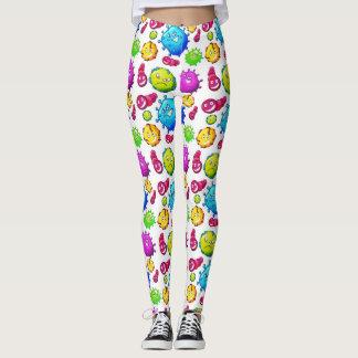 Clolorful Gems Pattern Leggings