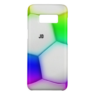 Clolorful Soccer | Initials Case-Mate Samsung Galaxy S8 Case