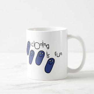 Cloning is fun coffee mug