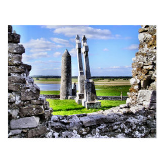 Clonmacnoise Tower Postcard