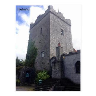 Cloonacauneen Castle, Co Galway, Ireland. Postcard