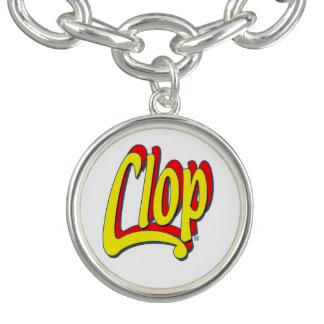Clop Bracelet. In silver plated! Wow! Bracelet