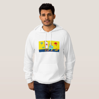 Clop Painter for man Hoodie