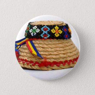 clop traditional hat 2 inch round button