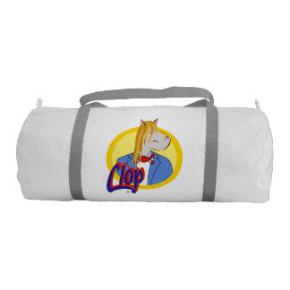 Clop's White Bag. Wow! Gym Bag
