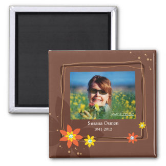 Close At Heart Square Magnet