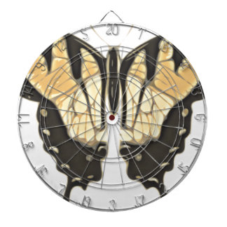 close Butterfly Dartboard