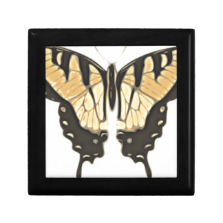 close Butterfly Gift Box