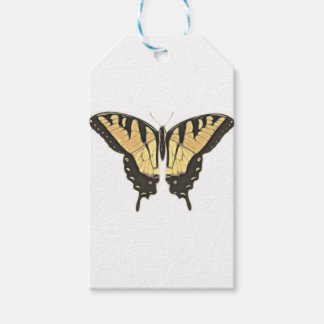close Butterfly Gift Tags