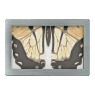 close Butterfly Rectangular Belt Buckle