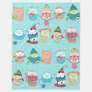 Close Knit Fleece Blanket, Large