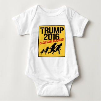 Close Our Borders - Trump 2016 Baby Bodysuit
