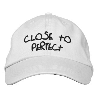 """""""Close to Perfect"""" Personalized Adjustable Hat"""