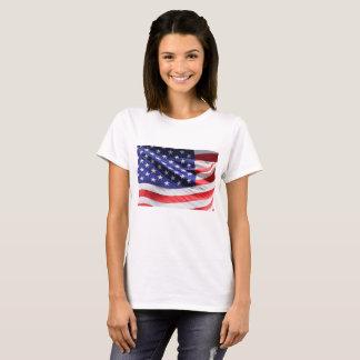 Close up American Flag T-Shirt