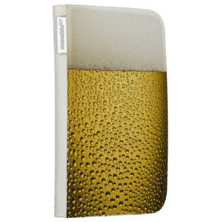 Close Up Beer Glass Kindle Folio Kindle Folio Cases