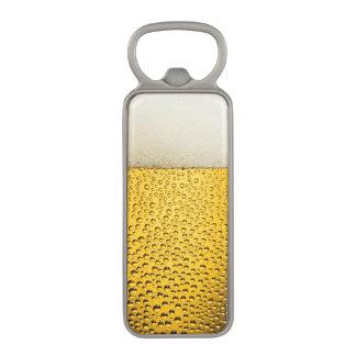 Close UP Beer Glass Magnetic Bottle Opener