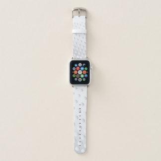 Close Up Golf Ball Apple Watch Band