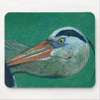 Close Up Heron Mouse Pad