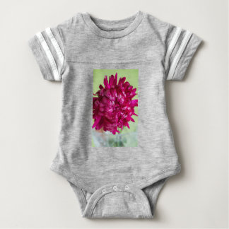 Close-up image of the flower Aster Baby Bodysuit