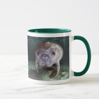 Close Up Manatees Mug