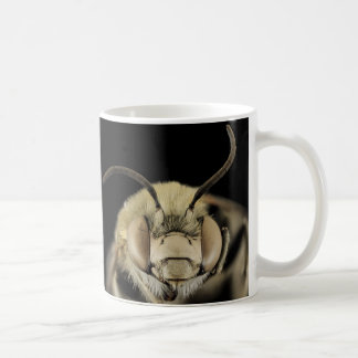 Close Up of a Bee's Face! 325ml Classic White Mug