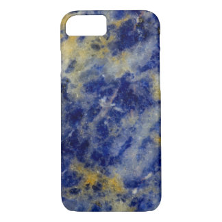 Close up of a Blue Sodalite iPhone 8/7 Case