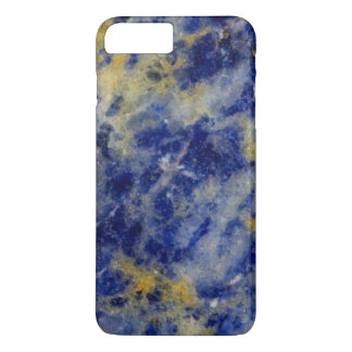 Close up of a Blue Sodalite iPhone 8 Plus/7 Plus Case