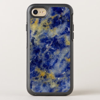 Close up of a Blue Sodalite OtterBox Symmetry iPhone 7 Case