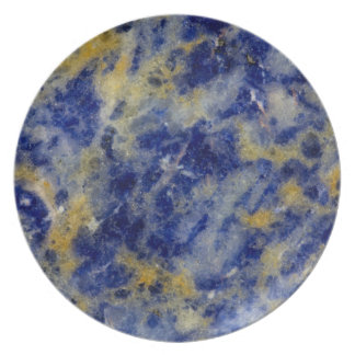 Close up of a Blue Sodalite Plates