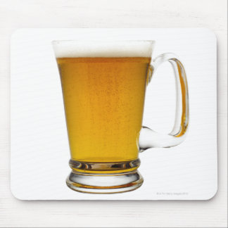 Close up of a glass of beer 2 mouse pad