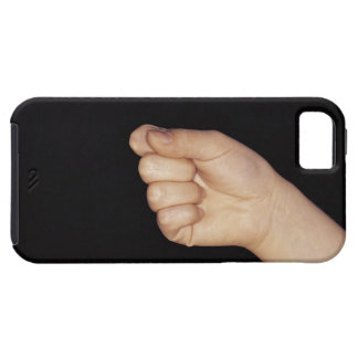 Close-up of a hand with fist clenched iPhone 5 cover