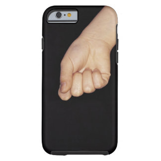 Close-up of a hand with fist clenched tough iPhone 6 case
