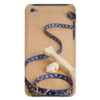 Close-up of a pet collar and a leash with dog iPod touch Case-Mate case