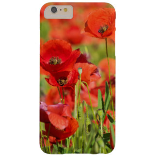 Close-up of a Poppy field, France Barely There iPhone 6 Plus Case
