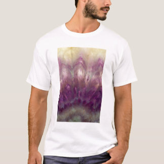 Close up of a purple Amethyst T-Shirt