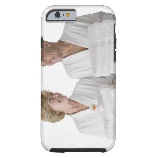 Close-up of a senior man with a mature woman tough iPhone 6 case