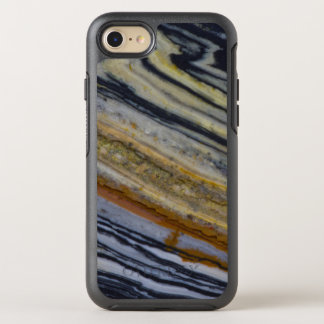 Close up of a Striated Jasper Slab OtterBox Symmetry iPhone 7 Case