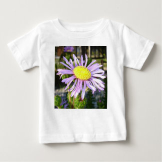 Close Up of A Violet Aster Flower Spring Bloom Baby T-Shirt