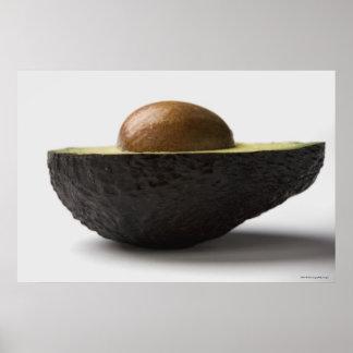 Close-up of an avocado poster